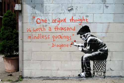banksy one original thought new york