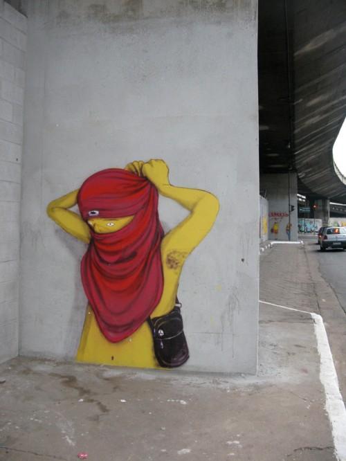 Os Gemeos in Sao Paulo