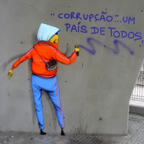 """Corrupção""..um país de todos/ ""Corruption""..a country for everyone"