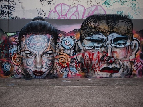 RONE x Phibs x LISTER in Sydney, Australia