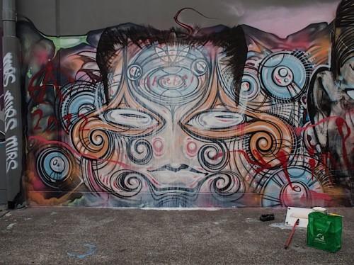 RONE x Phibs in Sydney, Australia