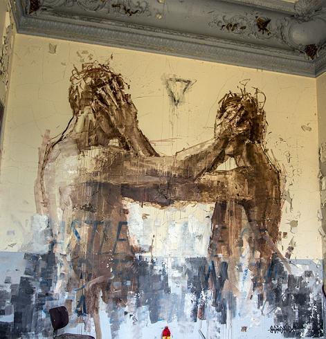 Borondo in Paris