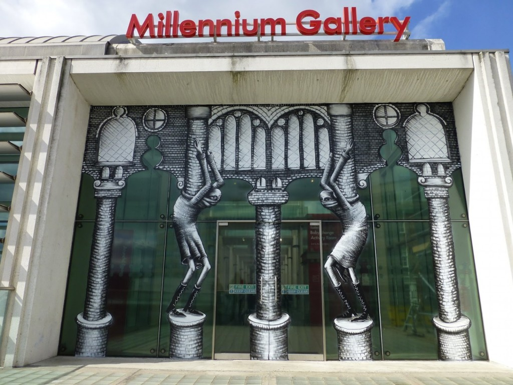 Phlegm at Millennium Gallery in Sheffield