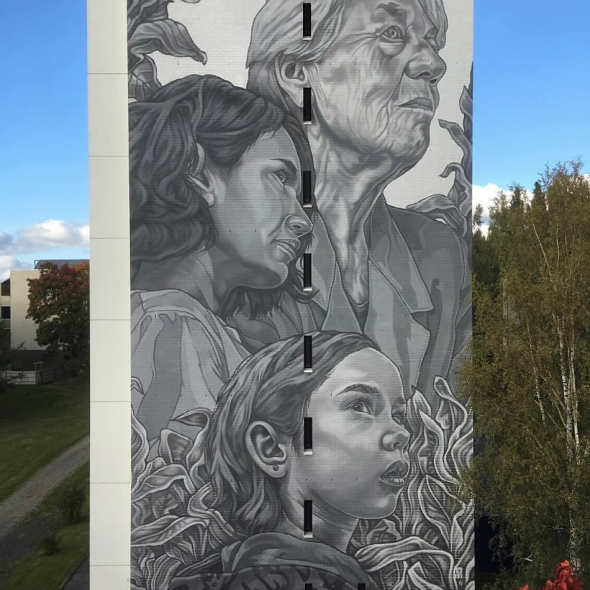 Paola Delfín in Finland