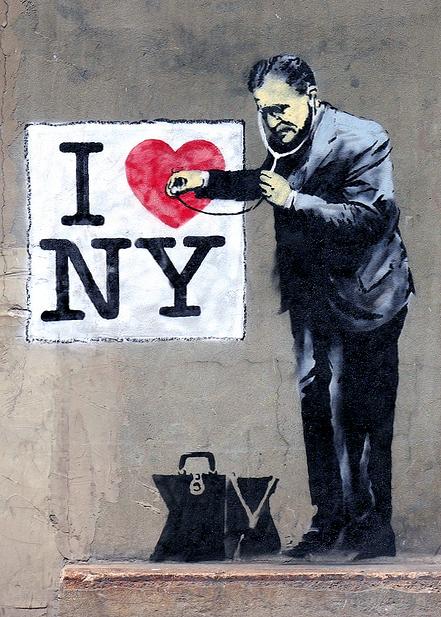 banksy i love new york