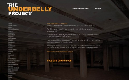 underbelly project