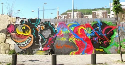 Malk and Stinkfish in Bilbao