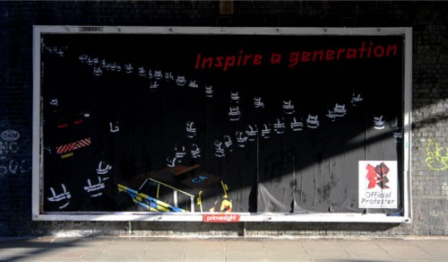 """Inspire a Generation"" by Space Hijackers, East London"