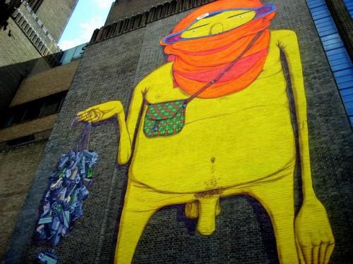 Os Gemeos mural