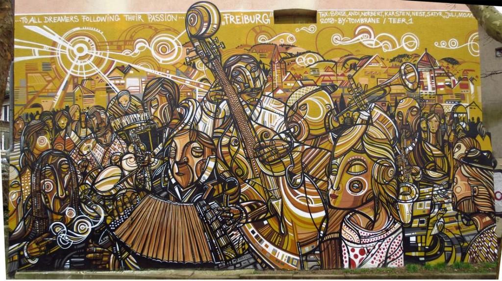 Tom Brane Mural (Freiburg)