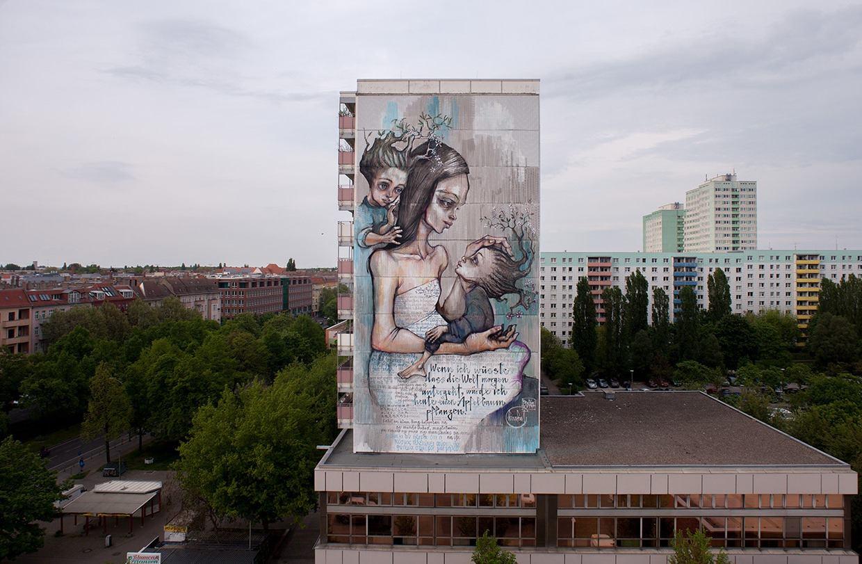 Herakut in Berlin